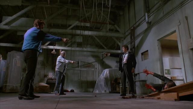 Reservoir Dogs - Bloody Standoff