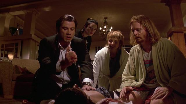 Pulp Fiction - A Needle To The Heart