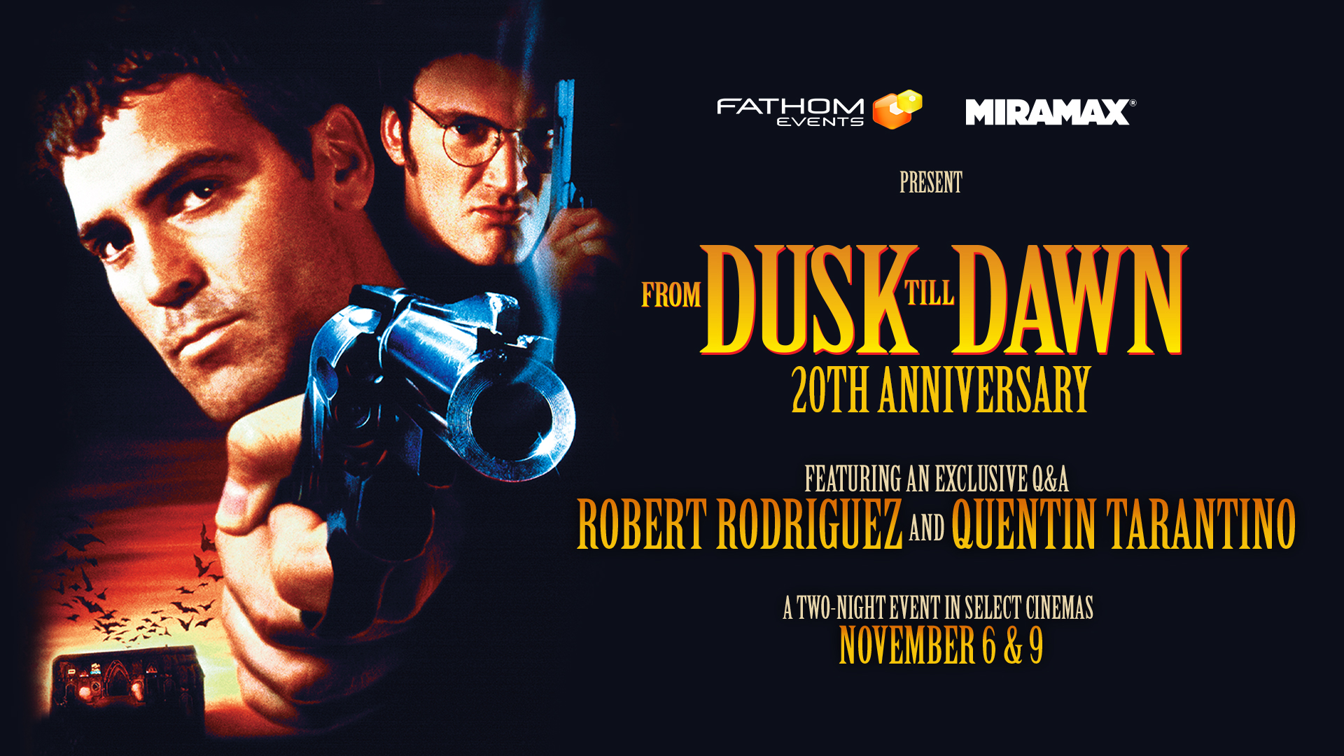 From Dusk Till Dawn 20th Anniversary - Fathom Events Trailer