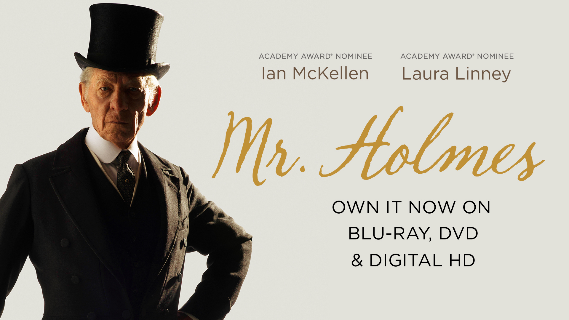 Mr. Holmes - Home Entertainment Trailer (HD) | Look for it on Blu-ray, DVD, and Digital HD